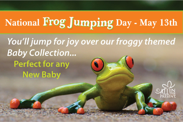 May 13 is National Frog Jumping Day