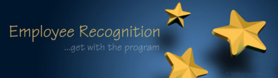 Employee recognition...get with the program