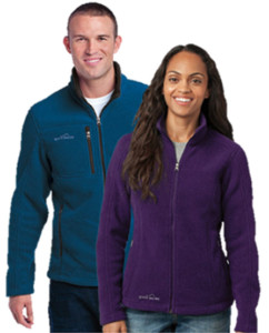 Fleece zip up jackets for men and women