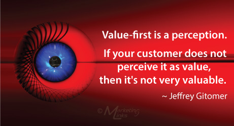 Perception quote by Jeffery Gitomer
